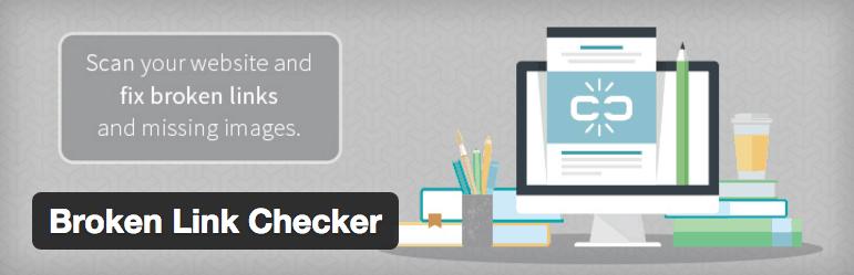 إضافة Broken Link Checker
