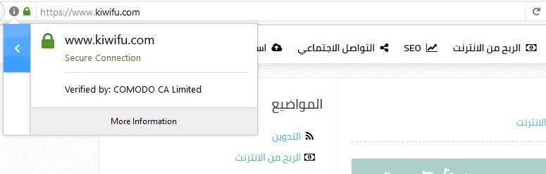 Kiwifucom SSL Certificate