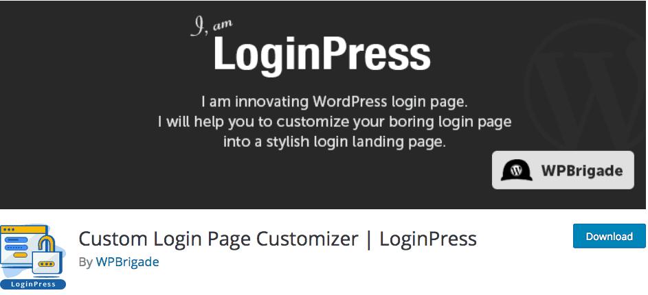 Custom Login Page Customizer LoginPress