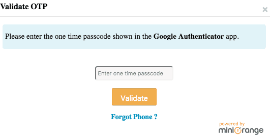 Login With Google Authenticator
