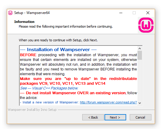 Step 2 Wamp Server
