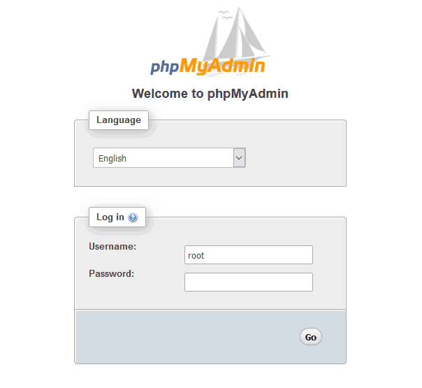 Wampserver phpmyadmin