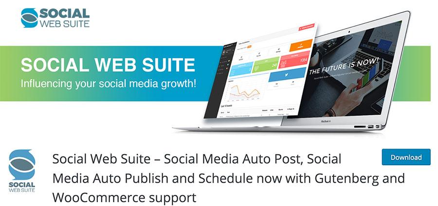 إضافة Social Web Suite