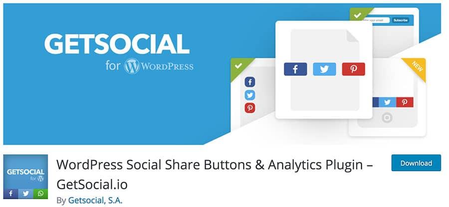 إضافة GetSocial.io